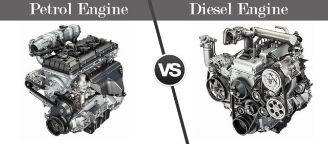 Petrol-Engine-VS-Diesel-Engine Cars in India